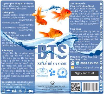 Lọ men vi sinh xử lý bể cá 120 ml