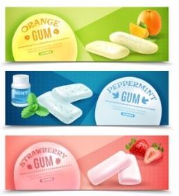 Nhãn đề can dán thùng xốp: Chủ đề hoa quả phần 1