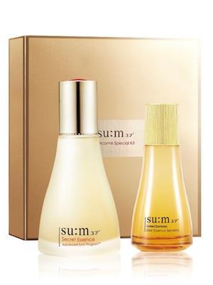 Sum37 Best Essence Duo Set_ Tinh chất nước thần 2 chai