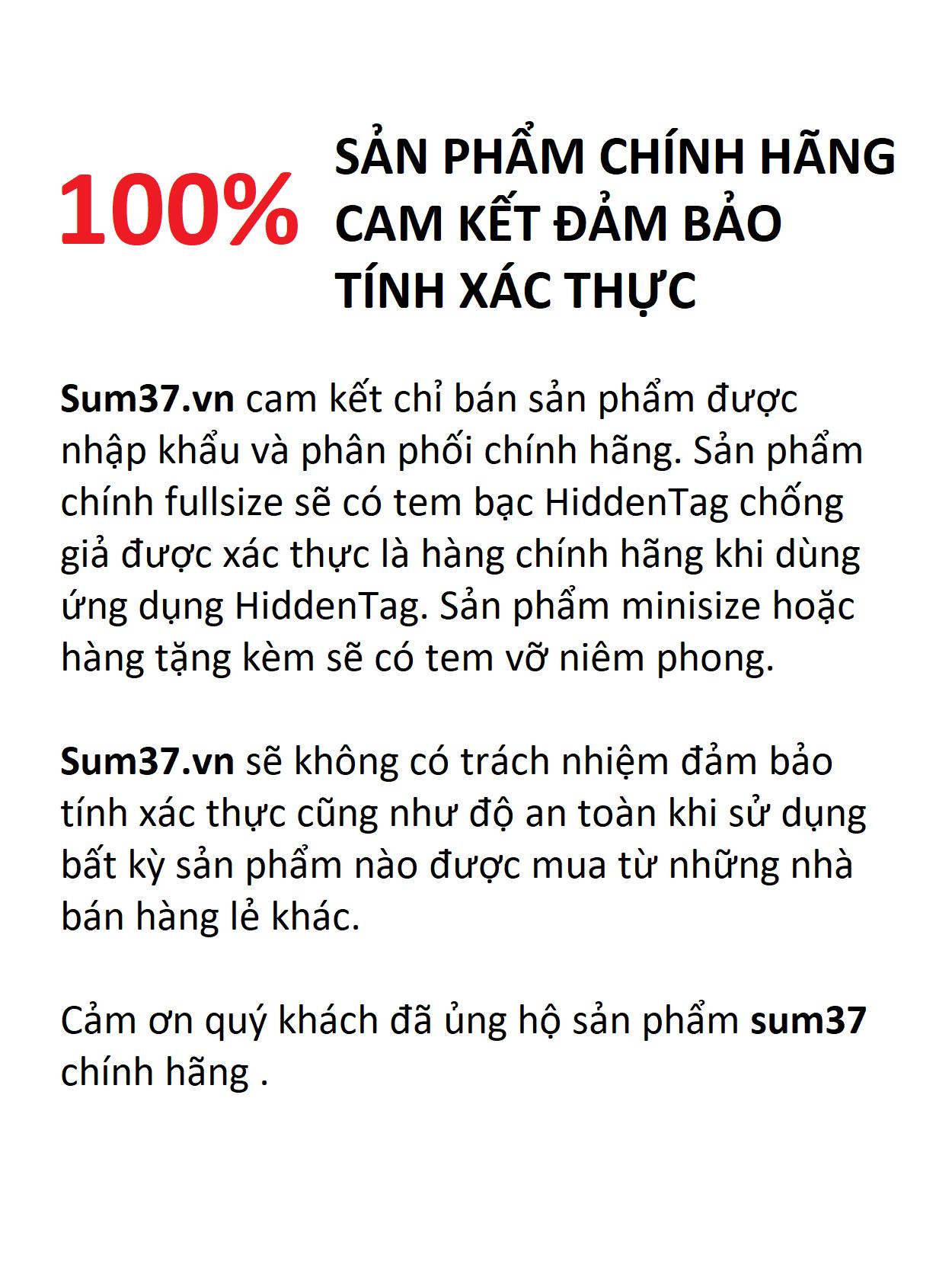Mặt nạ sủi bọt thải độc Sum37 tặng nước tẩy trang 400ml
