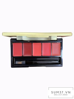 Bảng son 5 màu Sum37 Losec summa Elixir Golden Lipsticks Pallete