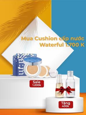 [ Khuyến mại giới hạn ] Sum37 Waterfull CC Cushion set đặc biệt