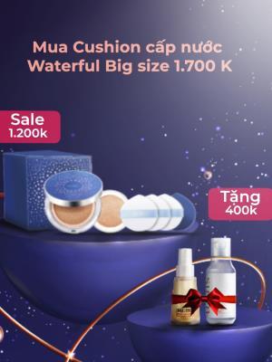 [ Khuyến mại giới hạn ] Sum37 Waterful Big Cushion Set