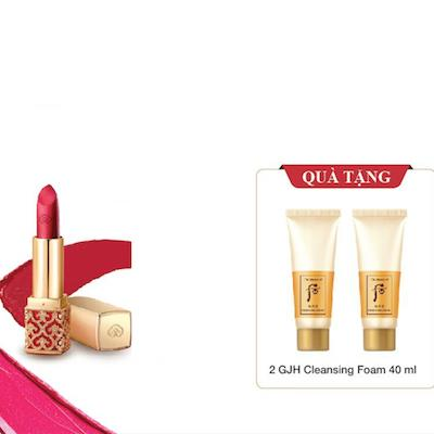 Whoo Velvet Lip Rouge Tặng Cleanser 2pcs