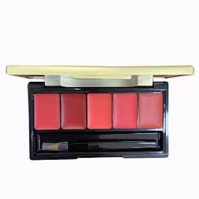 Bảng son 5 màu Su:m37 Losecsumma Elixir Golden Lipsticks Pallete