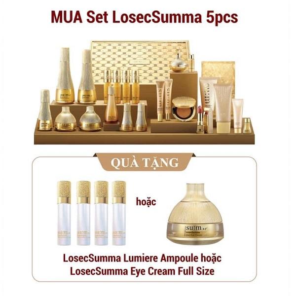 Bộ set tái sinh da su:m37 Losec Summa Elixir Special Set