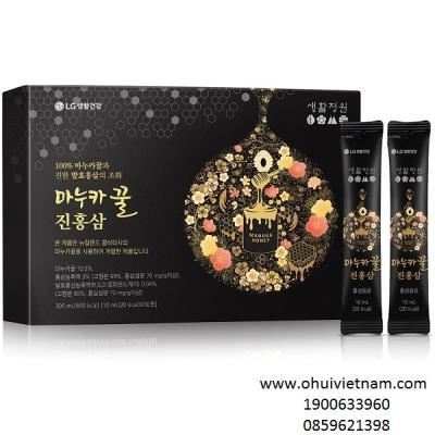 Thực phẩm chức năng hồng sâm mật ong Manukahoney Jinhongsam