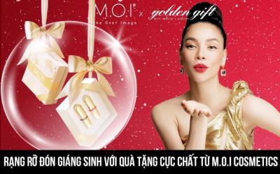 Rạng rỡ đón Giáng sinh với quà tặng cực chất từ M.O.I Cosmetics