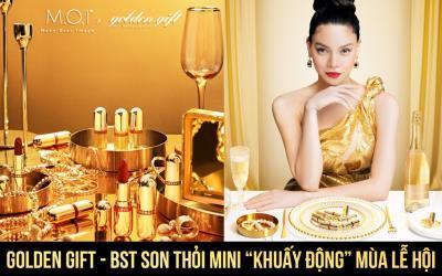 """Golden Gift - BST son thỏi mini """"khuấy động"""" mùa lễ hội"""