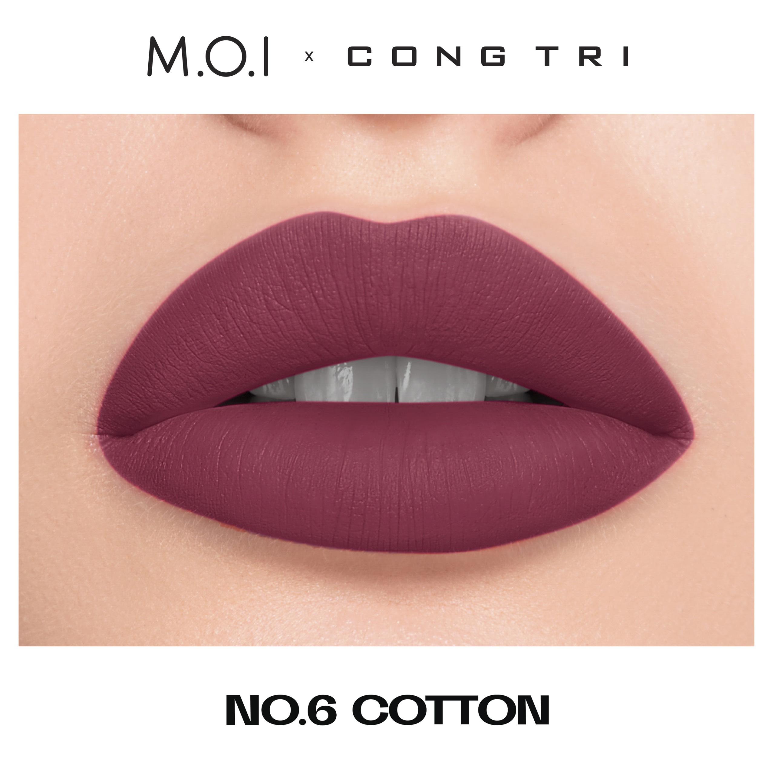 NO.06 - COTTON- BST SON M.O.I x CÔNG TRÍ.