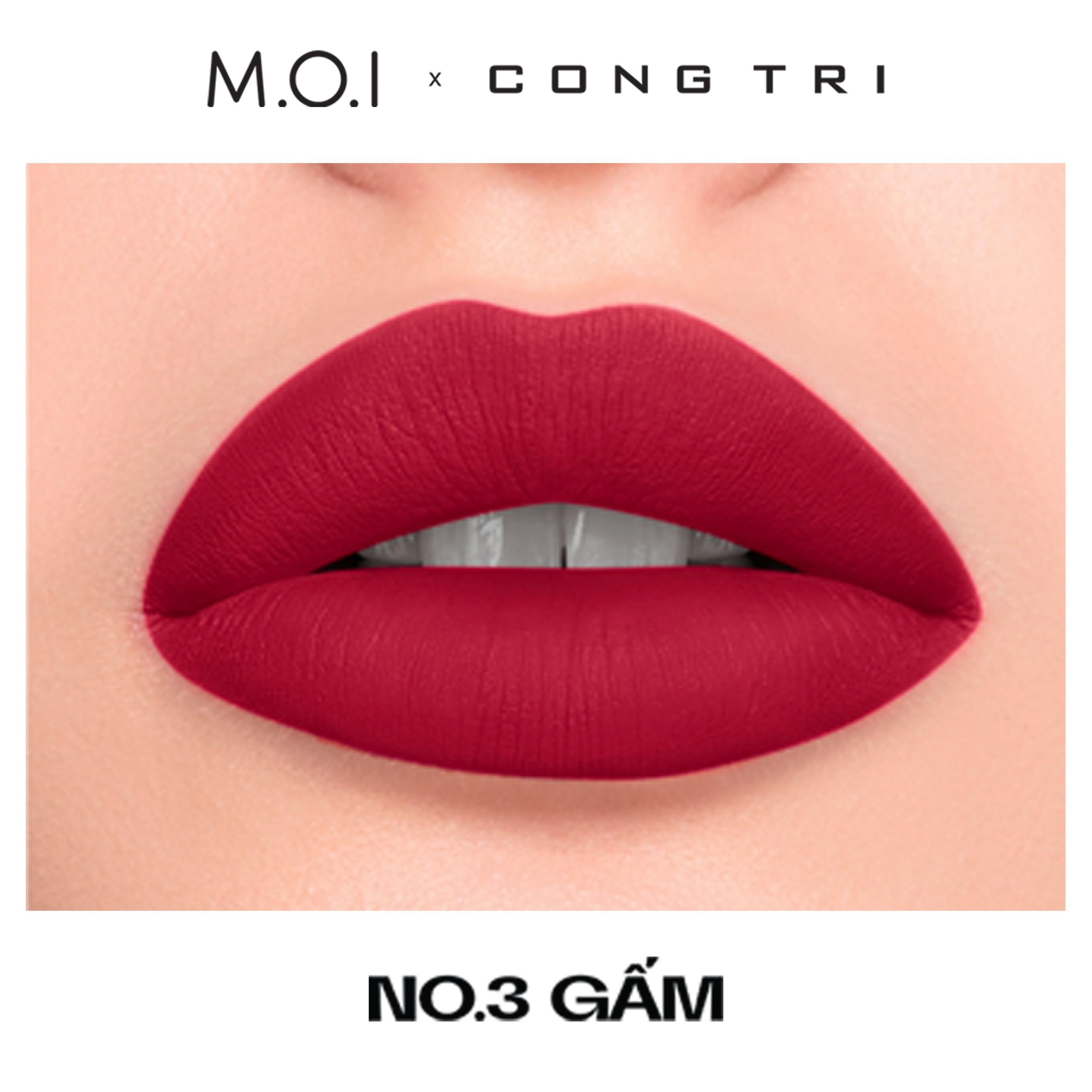 NO.03- GẤM- BST SON M.O.I x CÔNG TRÍ