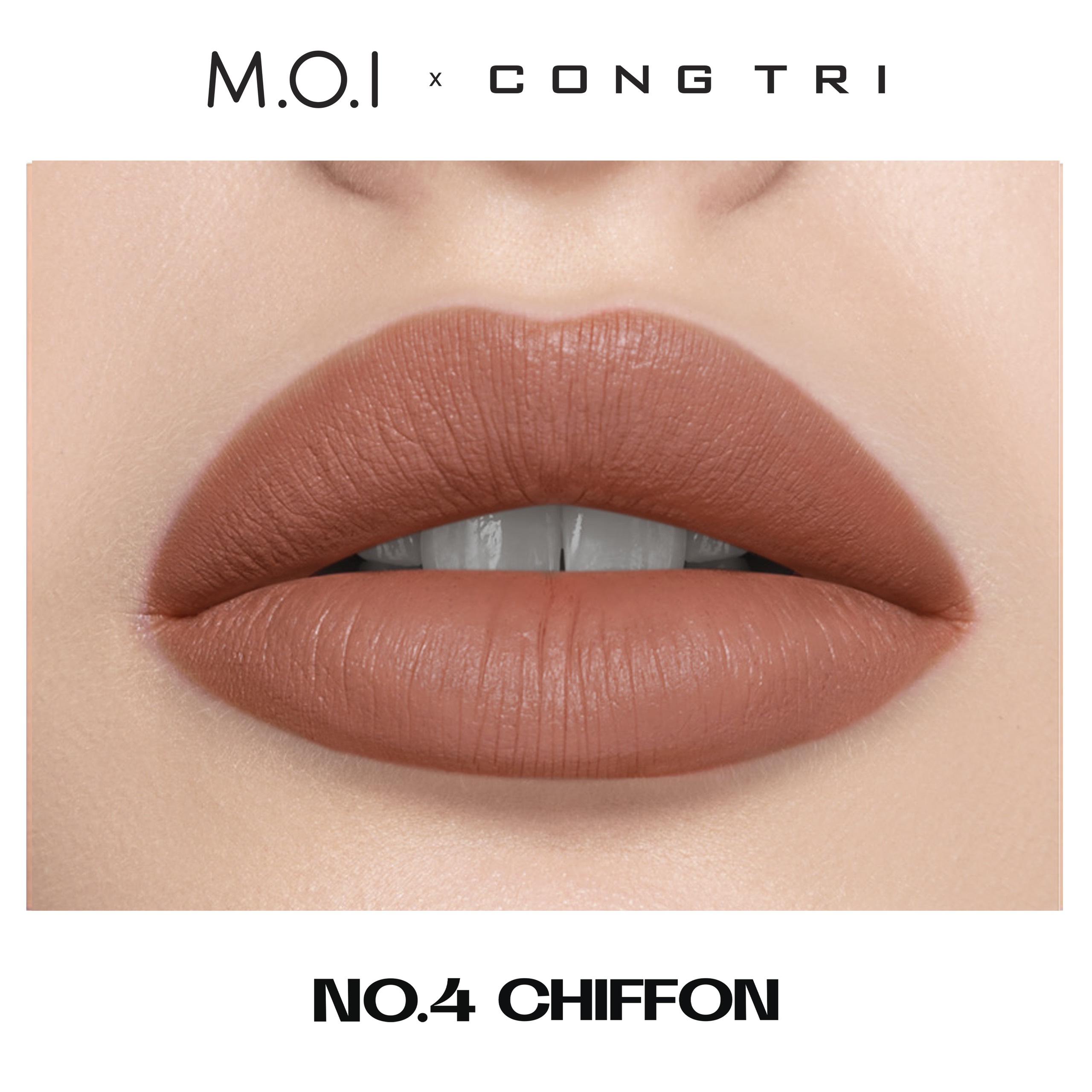 NO.04- CHIFFON - BST SON M.O.I x CÔNG TRÍ
