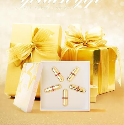 SET 5 BEAUTIFUL SON THỎI MINI GOLDEN GIFT